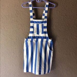 H&M girls suspender dress